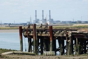 A steamer pier. Just not *the* steamer pier.