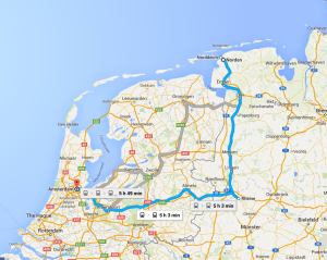 Norden to Amsterdam by train - quicker than it once was